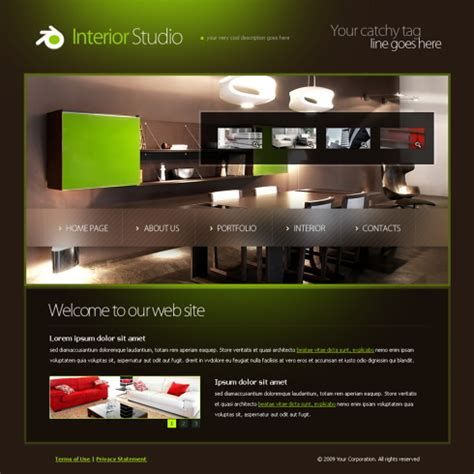 6022 Interior Furniture Website Templates Dreamtemplate Furniture Website Templates Free