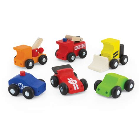 small toy mini vehicle set pintoy