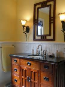 mission style bathroom mirror bathroom craftsman vanity mirror home style