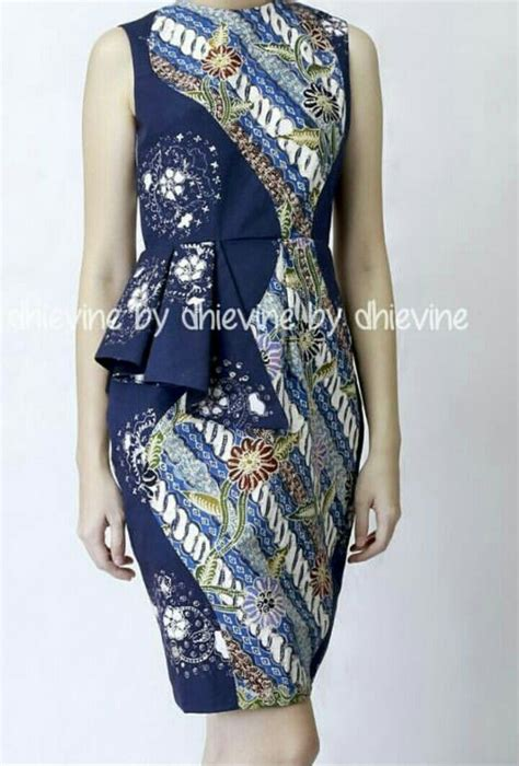 Dress Batik Handmade 25 best ideas about batik dress on bird dress
