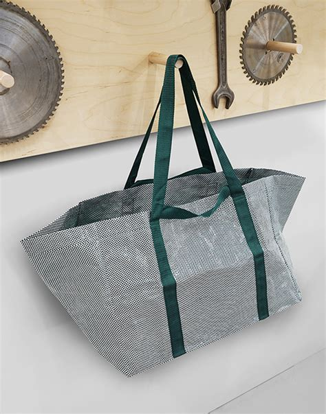 Hay Ikea Bag | ikea collaborates with tom dixon and hay on new visions of