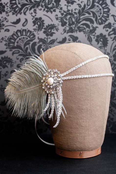 gatsby themed hairpieces 17 best images about roaring 20 s party on pinterest