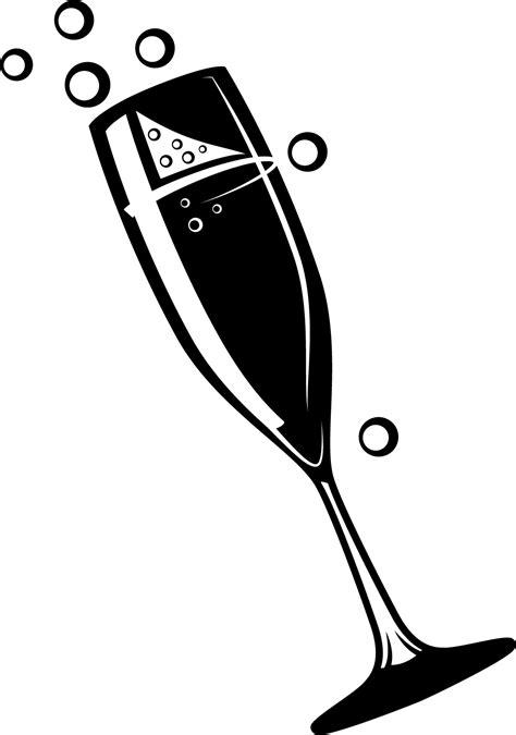 Sticker Verre de cocktail avec des bulles - Stickers
