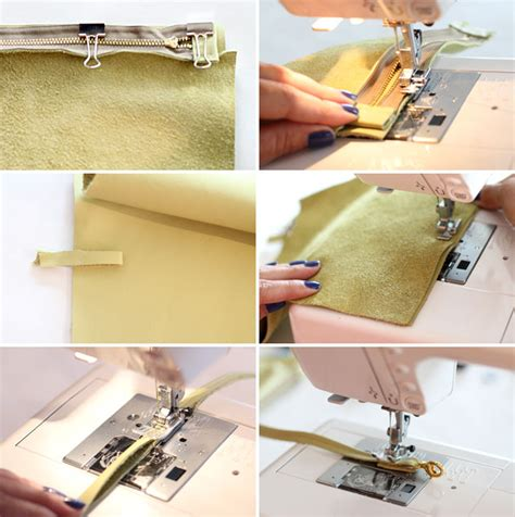 How To Make A Leather by How To Make A Diy Leather Crossbody Bag It Lovely