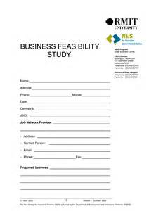 Feasibility Study Template Small Business feasibility study outline template free programs