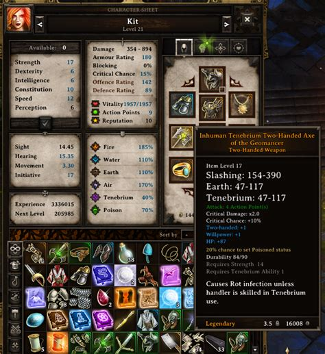 sextant divinity beat the game show off some of your gear here