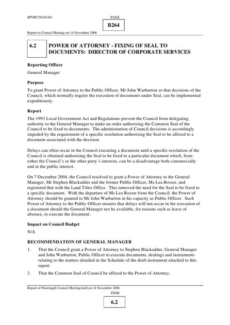 council report template council report template 1