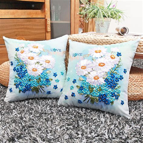 Bantal Cinta Stitch buy wholesale ribbon embroidery pillow from china