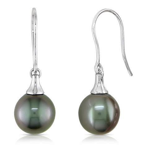 tahitian pearl earrings and necklaces