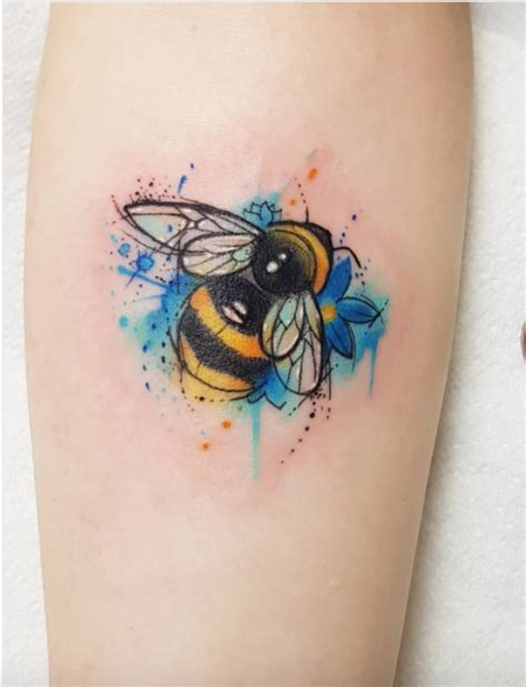 bumble bee tattoo inkstylemag