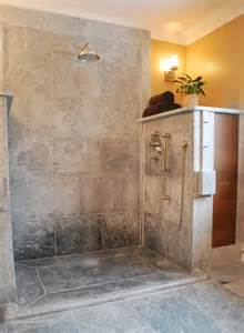 Soapstone Shower soapstone curbless shower for the home