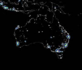 lights australia outback snack australian capital cities