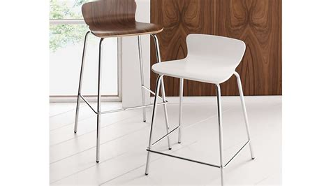 Felix White Counter Stool by Felix White Counter Stool Crate And Barrel