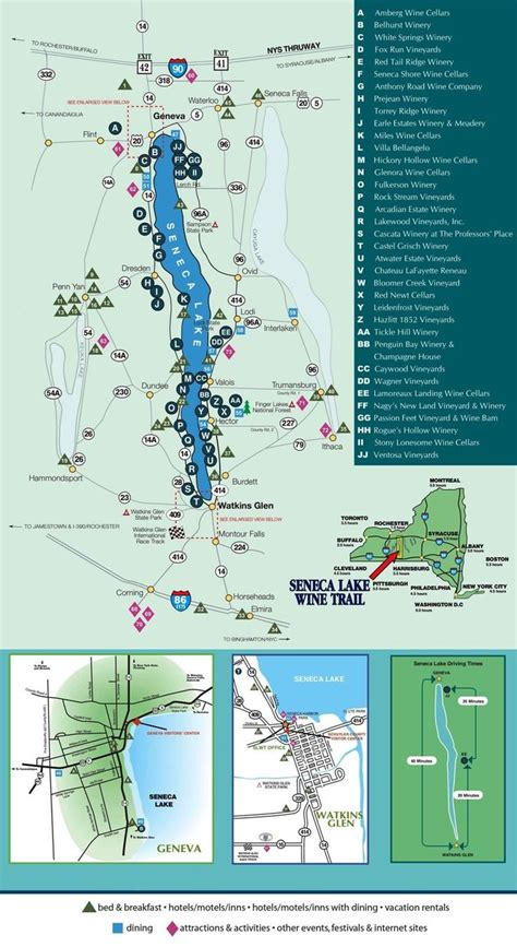 cayuga lake wine trail map 25 best images about wine regions on