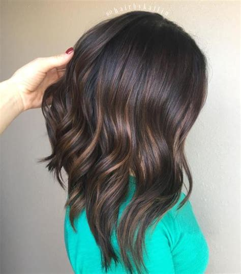 a line with subtle balyage highlights hair balyage 20 must try subtle balayage hairstyles