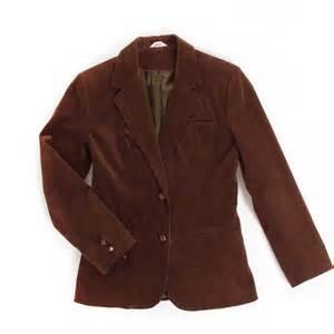 Brown Corduroy Brown Corduroy Blazer Size Small