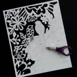How To Make Paper Cut Designs - papercutting