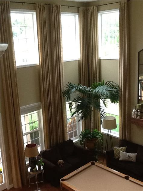 vaulted ceiling curtain ideas 17 best images about two story drapery ideas on pinterest