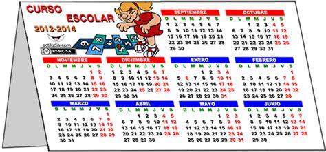 calendario de pared calendario de sobremesa calendario y horario escolar de sobremesa 2013 14 el