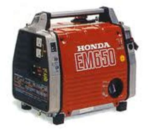 honda em650 the best honda em650 generator workshop service manual
