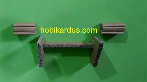 Penyangga Rak Dinding kerajinan tangan dari kardus bekas rak dinding ambalan minimalis 187 hobi kardus