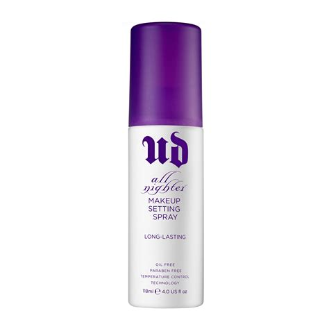 decay all nighter make up setting spray 118ml