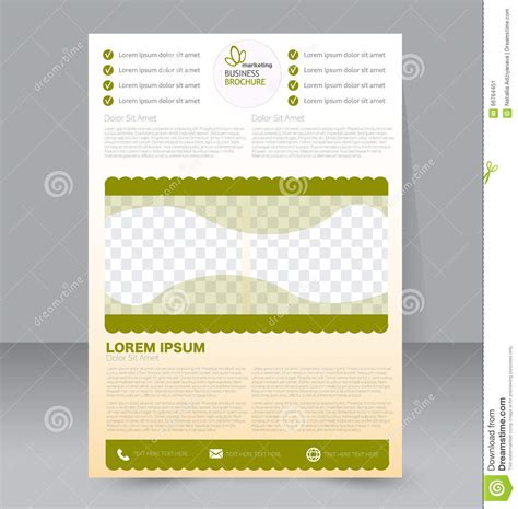 flyer template editable flyer template business brochure editable a4 poster