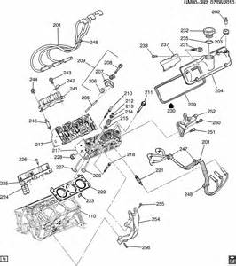 Pontiac Aztek Parts Diagram Engine Asm 3 4l V6 Part 2 Cylinder Related Parts