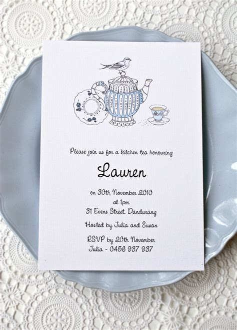 kitchen tea invites ideas vintage kitchen tea invitation bianca invitations