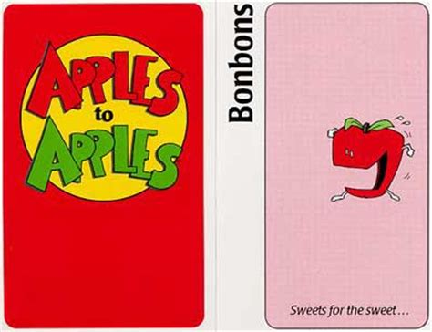 S Day Card Template Apple by Apples To Apples Mattel Tweenbooksandmore