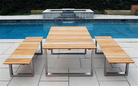 Teak outdoor dining table and wicker chairs home ideas collection teak outdoor dining table
