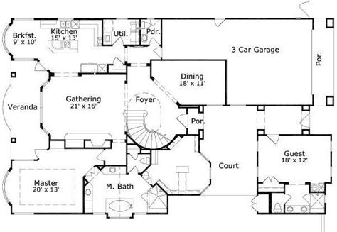 house plans with separate guest house house plans with separate guest house house plans