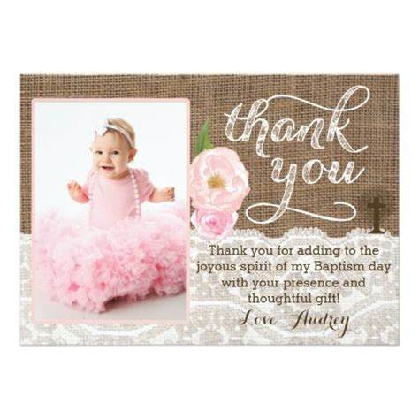 Thank You Card Bautism Template Word by 17 Best Ideas About Baptism Thank You Cards On