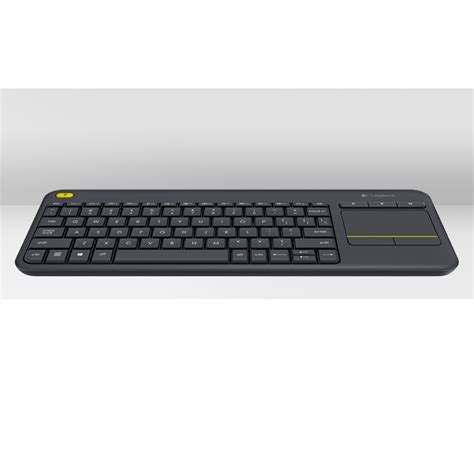 Murah Keyboard Logitech K400 Plus Black logitech wireless touch keyboard k400 plus black jakartanotebook