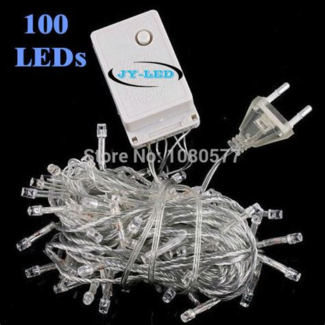 10m White Red Blue Rgb Twinkle Decoration Light 220v 100 Lights 100 Clear Twinkle