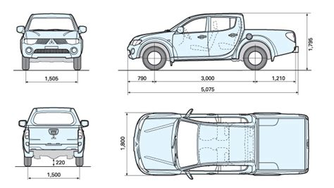 mitsubishi triton tray dimensions mitsubishi triton dimensions auto cars