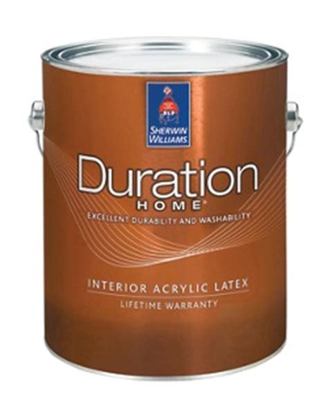 Sherwin Williams Duration Home Interior Paint | duration home 174 interior acrylic latex paint homeowners