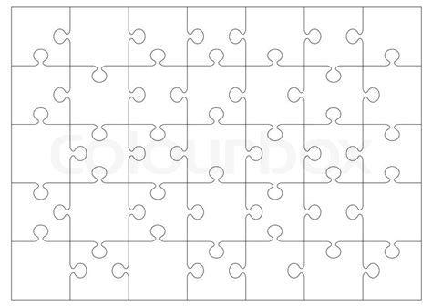 black and white jigsaw or puzzle outline that you can