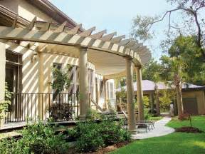 House With Pergola by Pergola Designs For Old House Gardens Old House Online