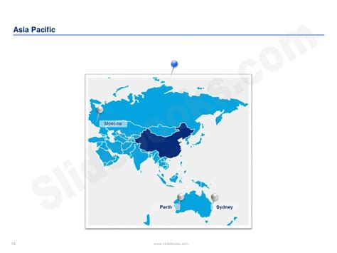 editable asia pacific maps in ppt