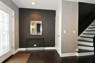 gray floors what color walls the hardwood floor matching stairs grey walls