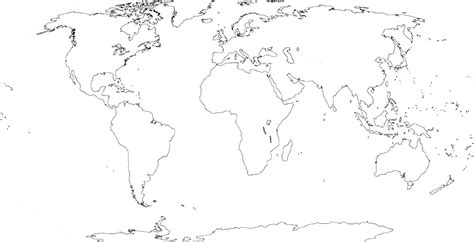 map world black and white world physical map black and white search