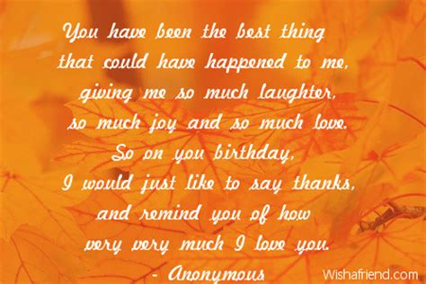 Birthday Quotes For Husbands You Have Been The Best Thing Birthday Quote For Husband