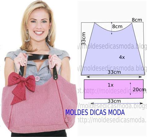 moldes bolsas tecido gratis molde de bolsa em tecido com medidas e passo a passo