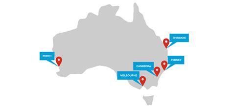 australia map location kwm australia