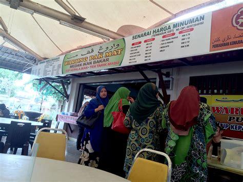 Teh Kotak Di Warung teh tarik madu dan sup kepala ikan warung pak mat pulau pisang