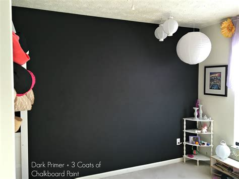 chalkboard paint with primer how to paint a chalkboard wall