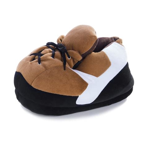 football slippers plush slippers american football for adults funslippers de