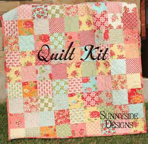 quilt kit marmalade baby patchwork crib diy do it