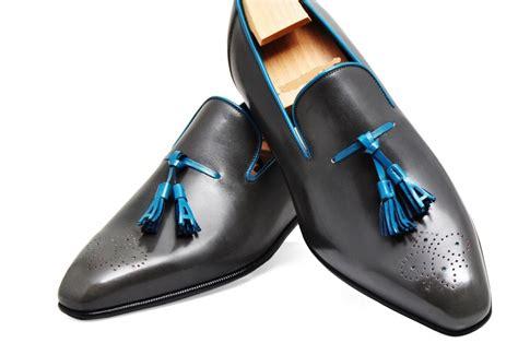 Handmade Mens Shoes Usa - handmade shoes mens black tassels leather shoes